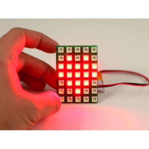 Neopixel LED Matrix 5x7