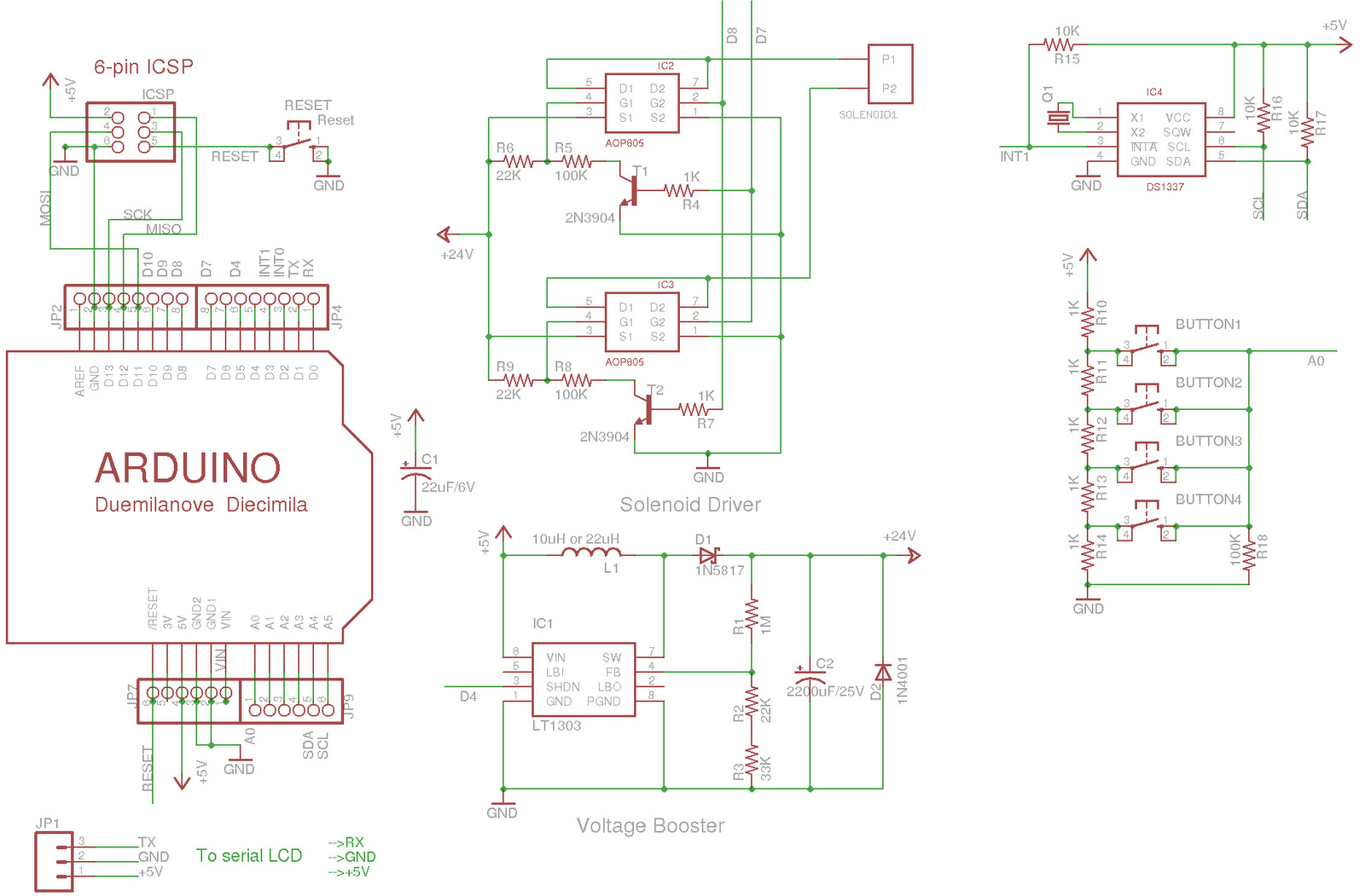 Arduino Openthings Eagle Professional 6 Further Free Pcb Layout On Schematic You Can Download And Design Here Feel To Use It Or Modify But Be Kind Give Me Some Credit For